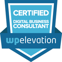 Image of the WP Elevation Badge - Your Web Presence