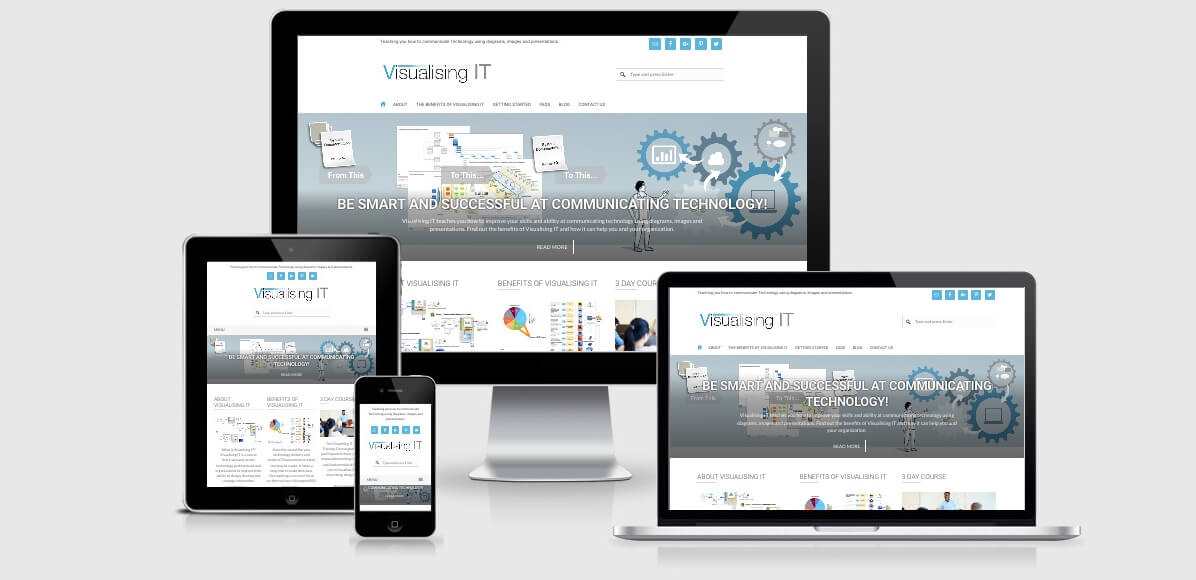 Image of the Visualising IT Website