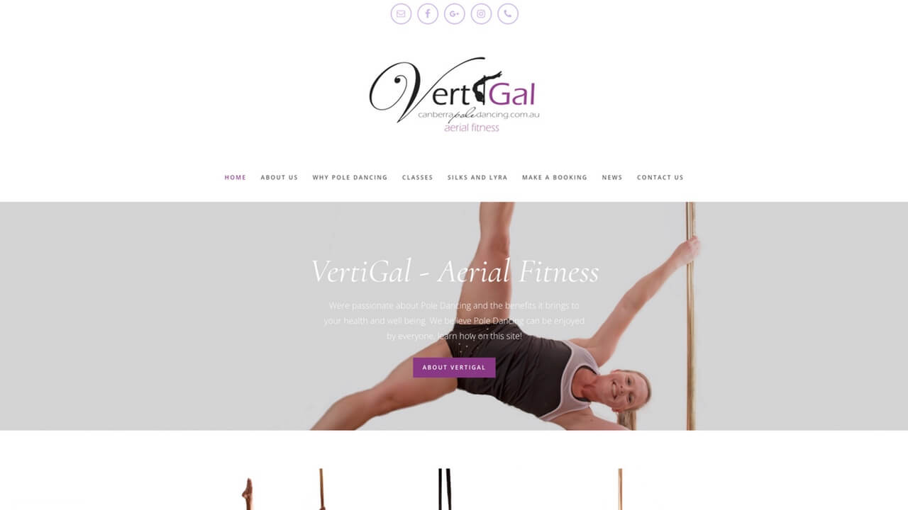 Image for the Vertigal Website