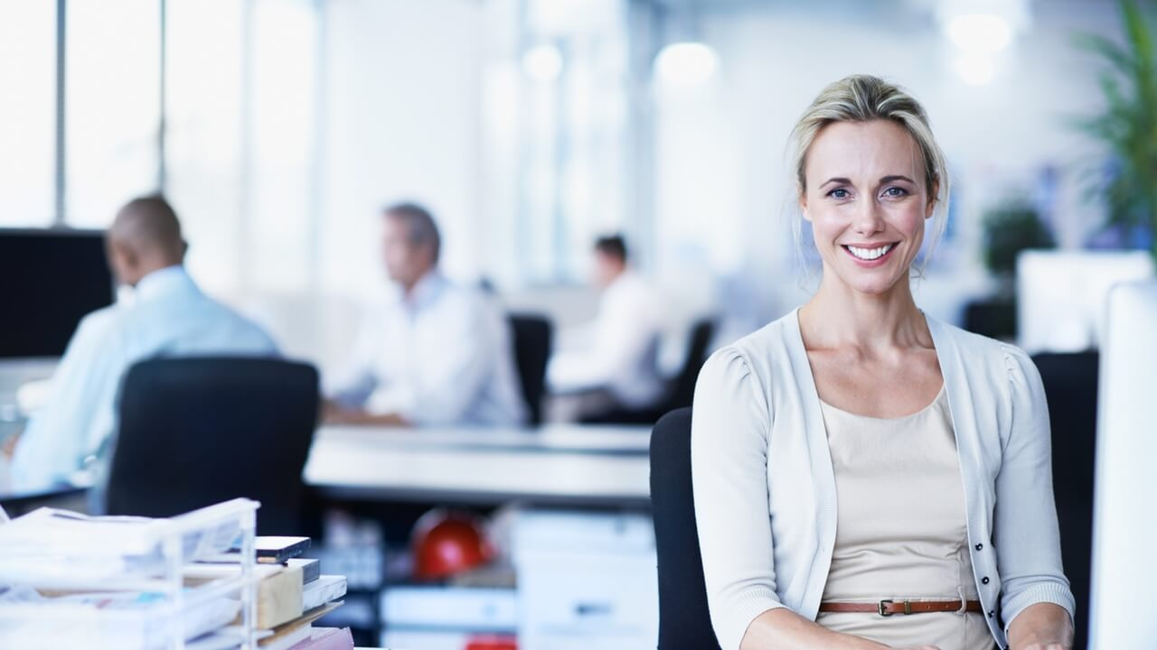 Image of Your Web Presence Office Woman