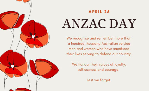 Remembering Anzac Day 2021
